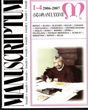 Manuscriptum 2006-2007-1