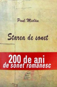 Paul Miclau Starea de sonet