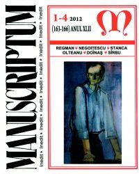 Revista Manuscriptum 1-4 2012