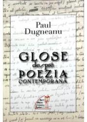 Paul Dugneanu glose poezia contemporana