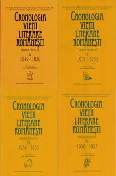 Cronologia vietii literare romanesti IV-VII