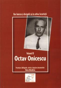 Dora Mezdrea – Nae Ionescu si discipolii sai. Octav Onicescu