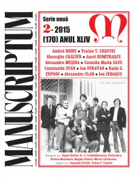 Coperta Manusciptum 2-2015