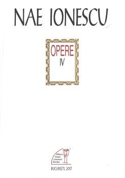 Nae Ionescu, opere 4
