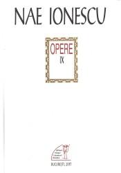 Nae Ionescu, opere 9
