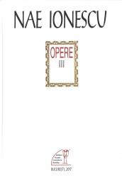 Nae Ionescu opere 3