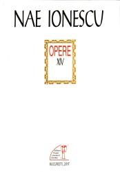 Nae Ionescu_Opere XIV_coperta