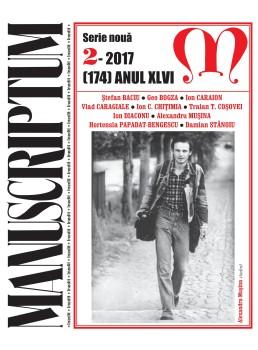 Coperta 1 Manusciptum 2-2017
