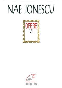 Dora-Mezdrea-Nae-Ionescu_opere VII