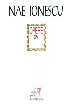 Dora-Mezdrea-Nae-Ionescu_opere XV