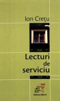 Ion Cretu Lecturi de serviciu